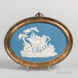 Turner Blue Jasper Dip Plaque