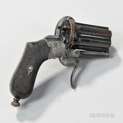 Pepperbox Pinfire Revolver