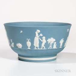 Wedgwood Solid Pale Blue Jasper Bowl