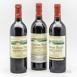 Chateau Pavie 1998, 3 bottles