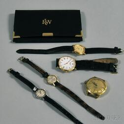 Five Assorted Wristwatches