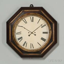 Atkins Thirty-day Wagon Spring Gallery Clock