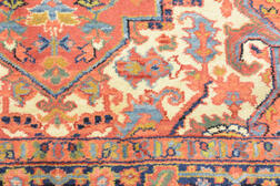 Modern Machine-made Heriz-type Rug, 9 ft. x 5 ft. 9 in.  Estimate $150-200