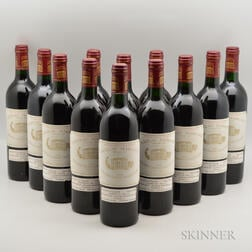 Chateau Margaux 1986, 12 bottles