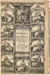 Heywood, Thomas (d. 1641) Gynaikeion: or, Nine Bookes of Various History Concerninge Women.