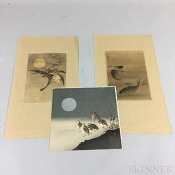 Six Shin Hanga Prints