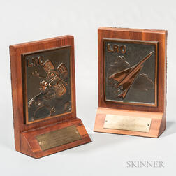 NASA Langley Research Center Bookends