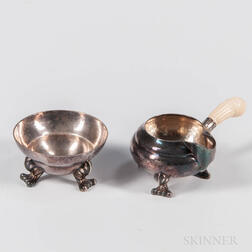 Georg Jensen Sterling Silver Creamer and Sugar