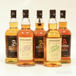 Mixed Springbank, 5 bottles