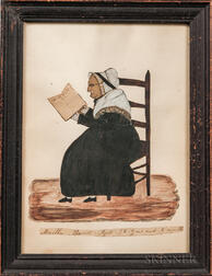 Clarissa Barnes (Connecticut, 1819-1836)      Martha Barnes Aged 96 Years and 6 Months