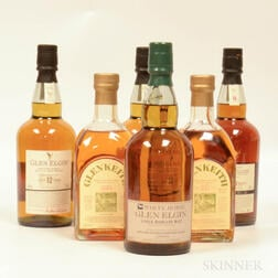 Mixed Single Malts, 5 bottles