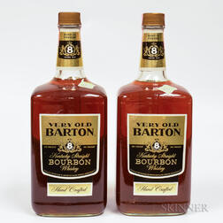 Very Old Barton 8 Years Old, 2 1.75 liter bottles