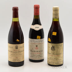 Mixed Burgundy, 3 bottles