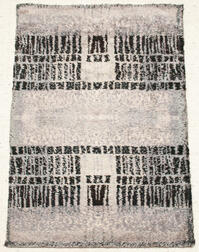 Two Rya Wool Rugs