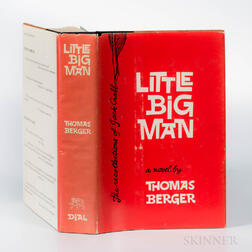 Berger, Thomas (1924-2014) Little Big Man  , Signed and Inscribed First Edition.