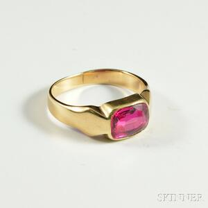 14kt Gold and Ruby Ring