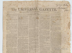 Universal Gazette   Newspaper
