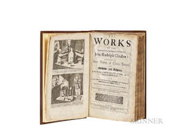 Glauber, Johann Rudolf (1604-1670) The Works of the Highly Experienced and Famous Chymist Containing Great Variety of Choice Secrets in