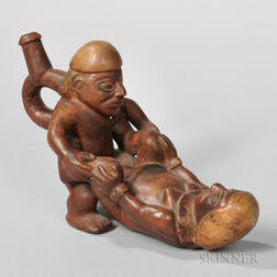 Moche Erotic Stirrup-spout Vessel