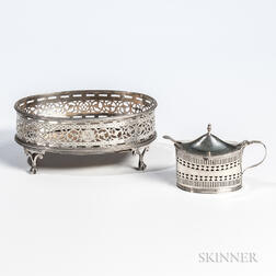 Two Pieces of George III Sterling Silver Tableware