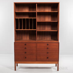 Borge Mogensen for Karl Andersson & Soner Teak Bookshelf and Cabinet