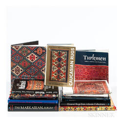 Eighteen Oriental Rug Books