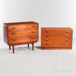 Borge Mogensen (1914-1972) for Soborg Mobler Dresser and Vanity