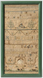 "Needlework Sampler ""Abigail Bordman,"""