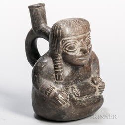 Moche Stirrup-spout Maternity Vessel