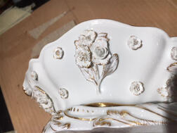 Pair of Meissen Porcelain Figural Dishes