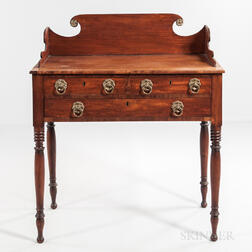Classical Mahogany and Mahogany Veneer Server
