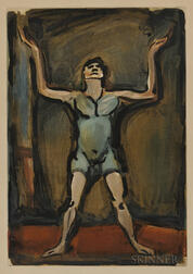 Georges Rouault (French, 1871-1958)      Jongleur from Cirque