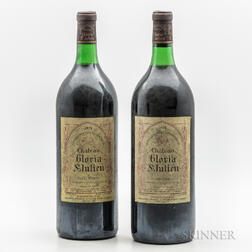 Chateau Gloria 1978, 2 magnums