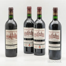 Chateau Cos d'Estournel, 4 bottles