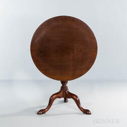 Mahogany Tilt-top Tea Table