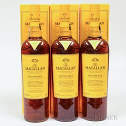 Macallan Edition No. 3, 3 750ml bottles (oc)