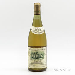 Bouchard Pere & Fils (Chateau de Beaune) Montrachet 1978, 1 bottle
