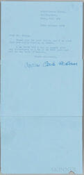 Christie, Agatha (1890-1976) Typed Letter Signed, Winterbrook House, Wallingford, Oxford, 23 October 1974.
