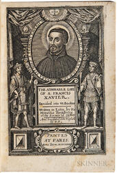 Torsellino, Orazio (1545-1599) The Admirable Life of S. Francis Xavier.
