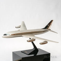 Convair 880 Aviation Plane Model with Display Plinth