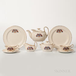 Wedgwood Queen's Ware Liberty Tea Set