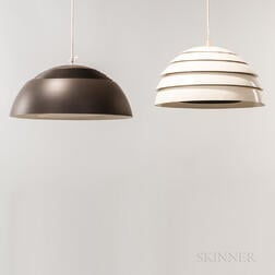 "Arne Jacobsen for Louis Poulsen ""AJ"" and Hans-Agne Jakobsson Pendant Lamps"