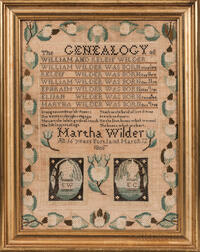 """Martha Wilder"" Needlework Genealogy"