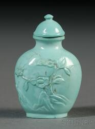 Turquoise Snuff Bottle