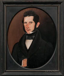 Sheldon Peck (Illinois/Vermont, 1797-1868)      Portrait of a Gentleman