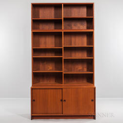 Borge Mogensen for Karl Andersson & Soner Øresund Cabinet and Two Stackable Bookcases