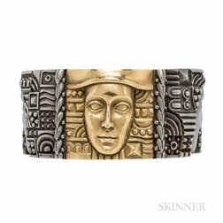 """Kieselstein-Cord """"Women of the World"""" 18kt Gold and Stainless Steel Bracelet"""