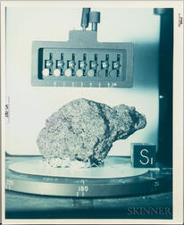 Apollo 15, Moon Rock Samples, Two Photographs, August 1971.