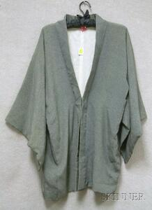 Japanese Silk Short Robe.