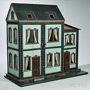 "Six-Room ""Mystery"" Dollhouse"